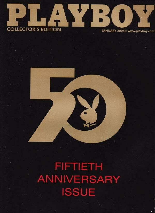 Playboy January 2004 50th Anniversary Collector's Edition