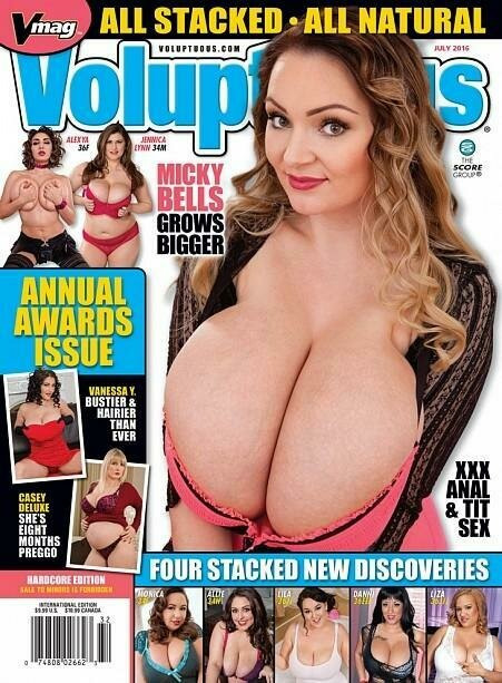 Voluptuous Magazine July 2016