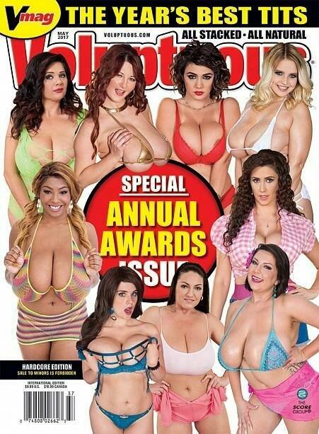 Voluptuous Magazine May 2017