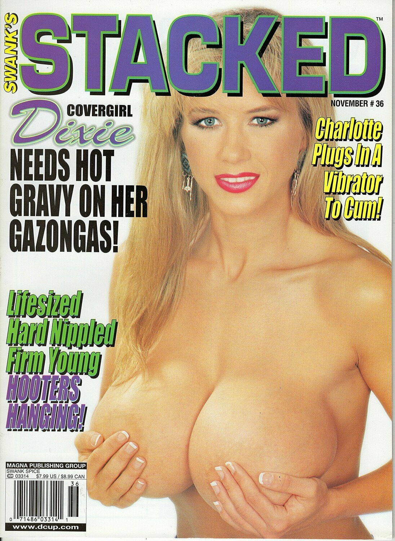 VINTAGE ADULT MAGAZINE SWANK STACKED #36 2001