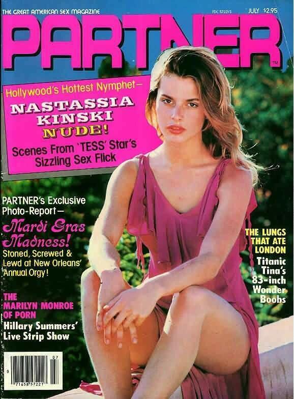 Vintage Partner Adult Magazine July 1981