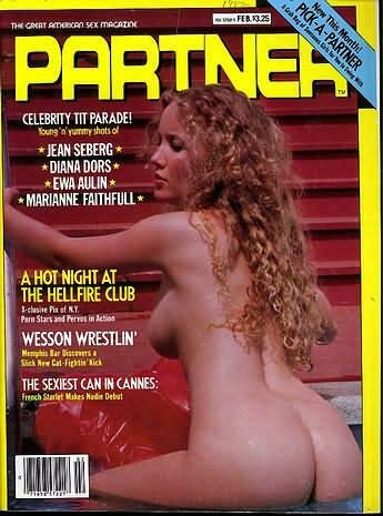 Vintage Partner Adult Magazine Jean Seberg February 1982