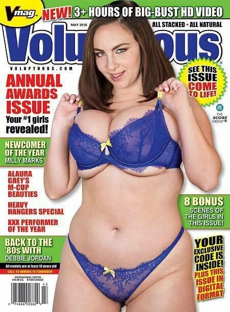 Voluptuous Magazine May 2018