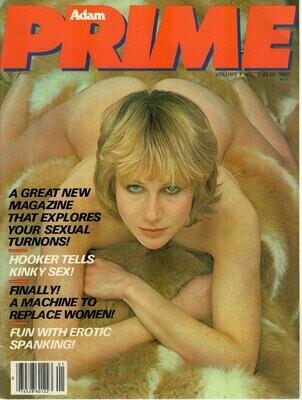 VINTAGE Adam Prime Magazine vol. 1 #1 1979