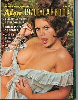 Adam Yearbook 1970 Vintage Magazine