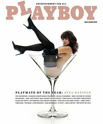 Playboy Magazine May June 2018, Playmate of The Year Nina Daniele