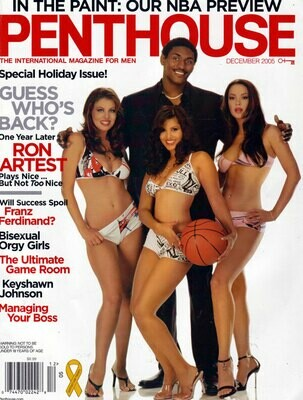 Penthouse Magazine December 2005