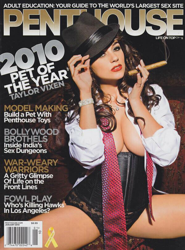 Penthouse Magazine January 2010