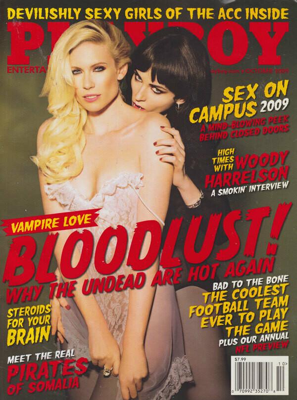 PLAYBOY Magazine October 2009