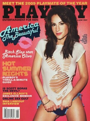 Playboy Magazine Back Issue June 2009