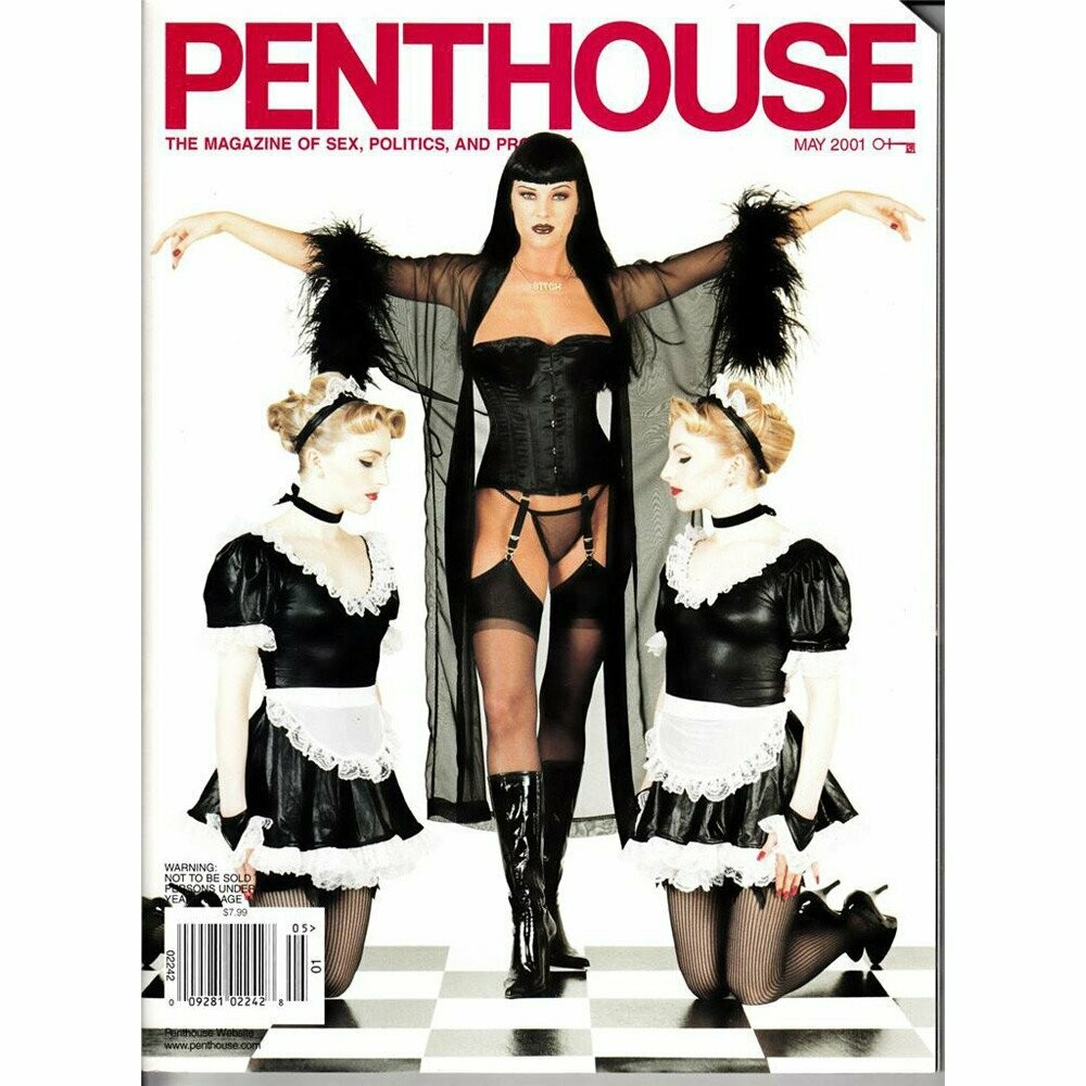 Penthouse Magazine May 2001 Domme Vivian