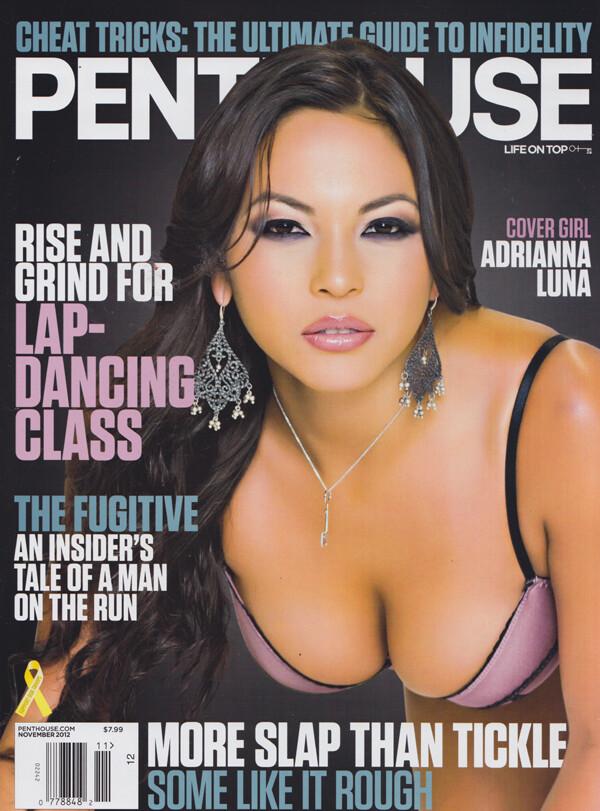 Penthouse Magazine November 2012 Adrianna Luna