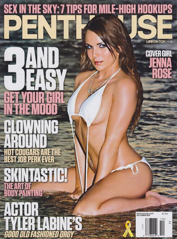Penthouse Magazine October 2011