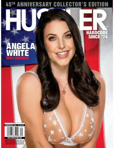 HUSTLER Adult Magazine Anniversary 2019 Angela White