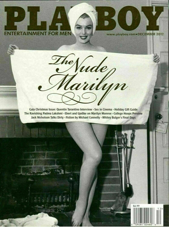Playboy Magazine The Nude Marilyn Monroe December 2012