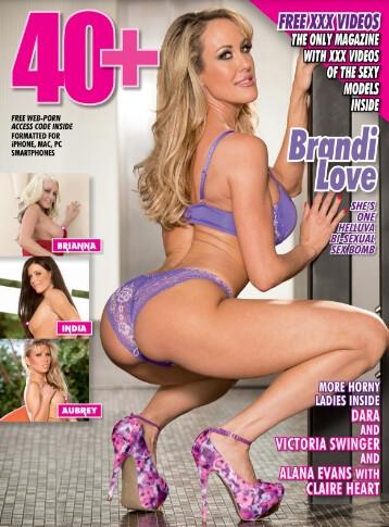 40+ Magazine Brandi Love #2 2019