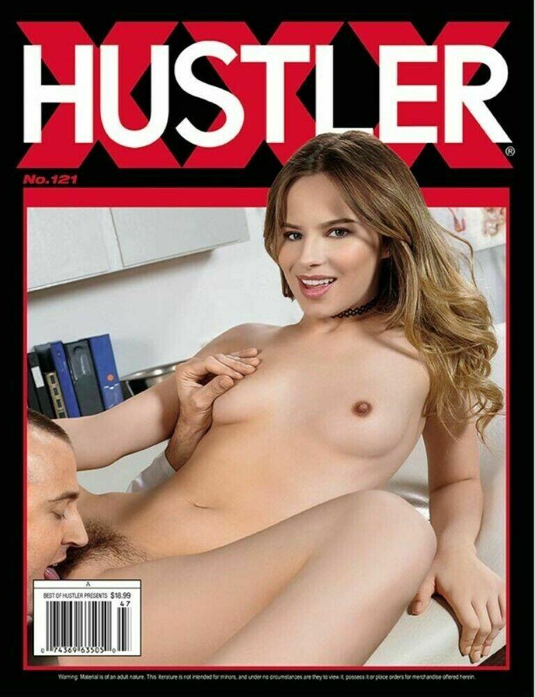 Hustler XXX Magazine #121 2018