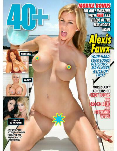 40+ Adult Magazine #06 2019 ALEXIS FAWX