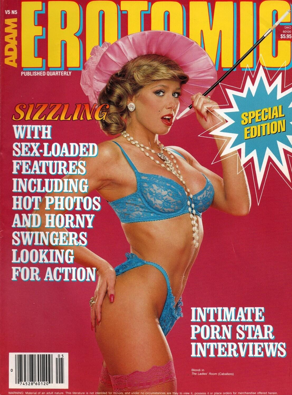 Adam: Erotomic Blondie Bee Vol. 5 No. 5 August 1987