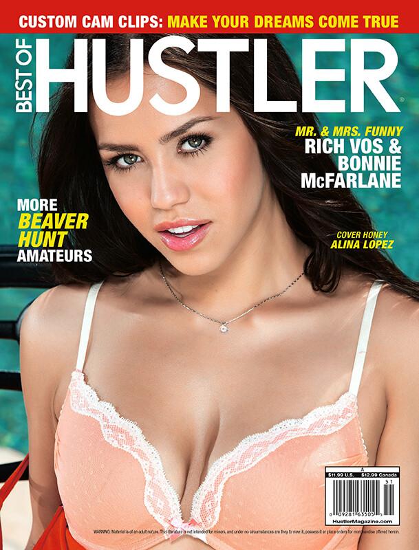 Best of Hustler Magazine #251  2019 Alina Lopez