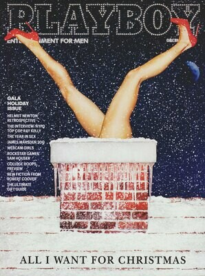 Playboy Magazine Back Issue December 2013