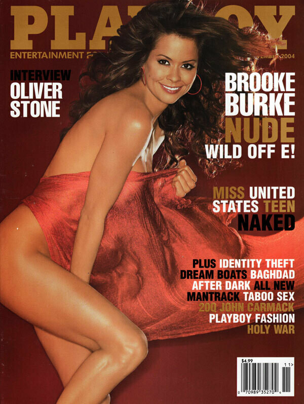 PLAYBOY ADULT MAGAZINE November 2004
