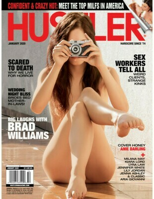 Hustler Magazine Single Issues