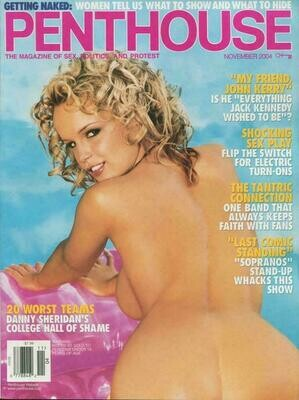 Penthouse Magazine November 2004