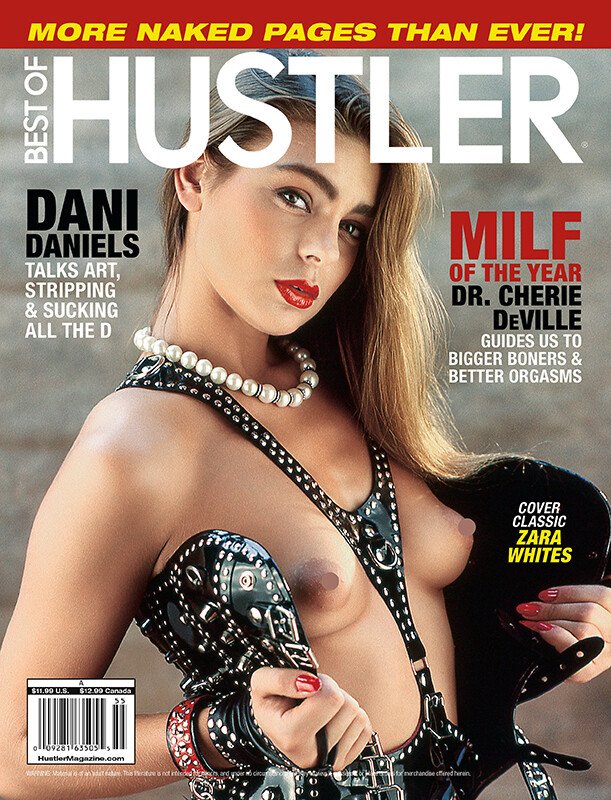Best of Hustler Issue #255 Adult Magazine 2019