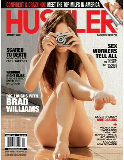 Hustler January 2020 Anie Darling