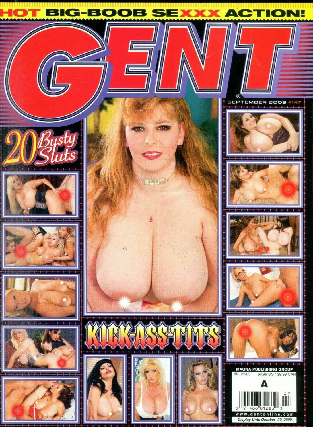 Gent Busty Magazine Big Boob Sexxx Action! September 2009