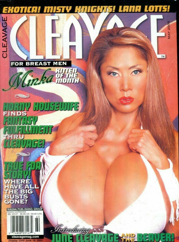 Cleavage Magazine Minka / Misty Knights May 2005