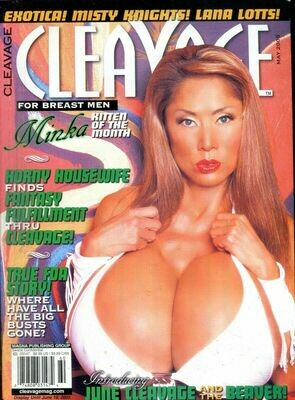Cleavage Magazine Minka / Misty Knights May 2005