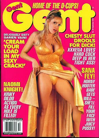 Gent Magazine Naomi Knight/ Sana Fey September 2001