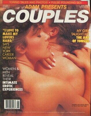 Adam Couples Magazine Hyapatia Lee vol.2 #1 1991