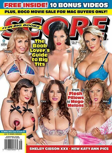 SCORE adult magazine Vol 28 No 6 2019