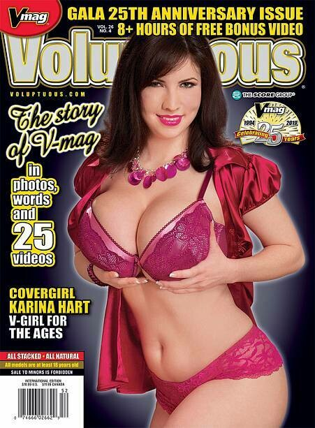 Voluptuous Magazine Vol 26 #4 2019 Karina Hart