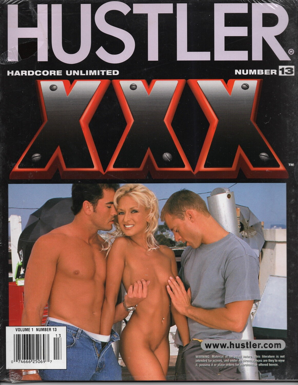Hustler Hardcore Unlimited XXX Adult magazine Vol 1 No 13