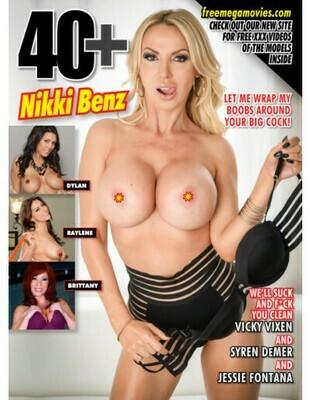 40+ Magazine 2020 #10 Nikki Benz