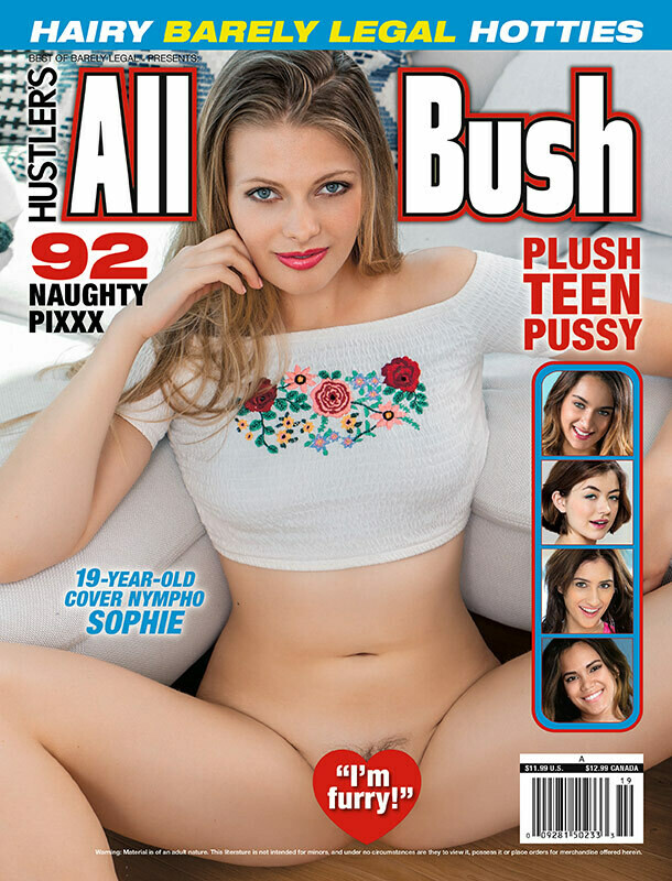 Hustler's All Bush Current Newsstand Issue