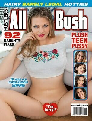 Hustler's All Bush Current Newsstand Issue