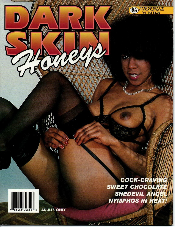 Dark Skin Honeys Adult Magazine  V4 1999