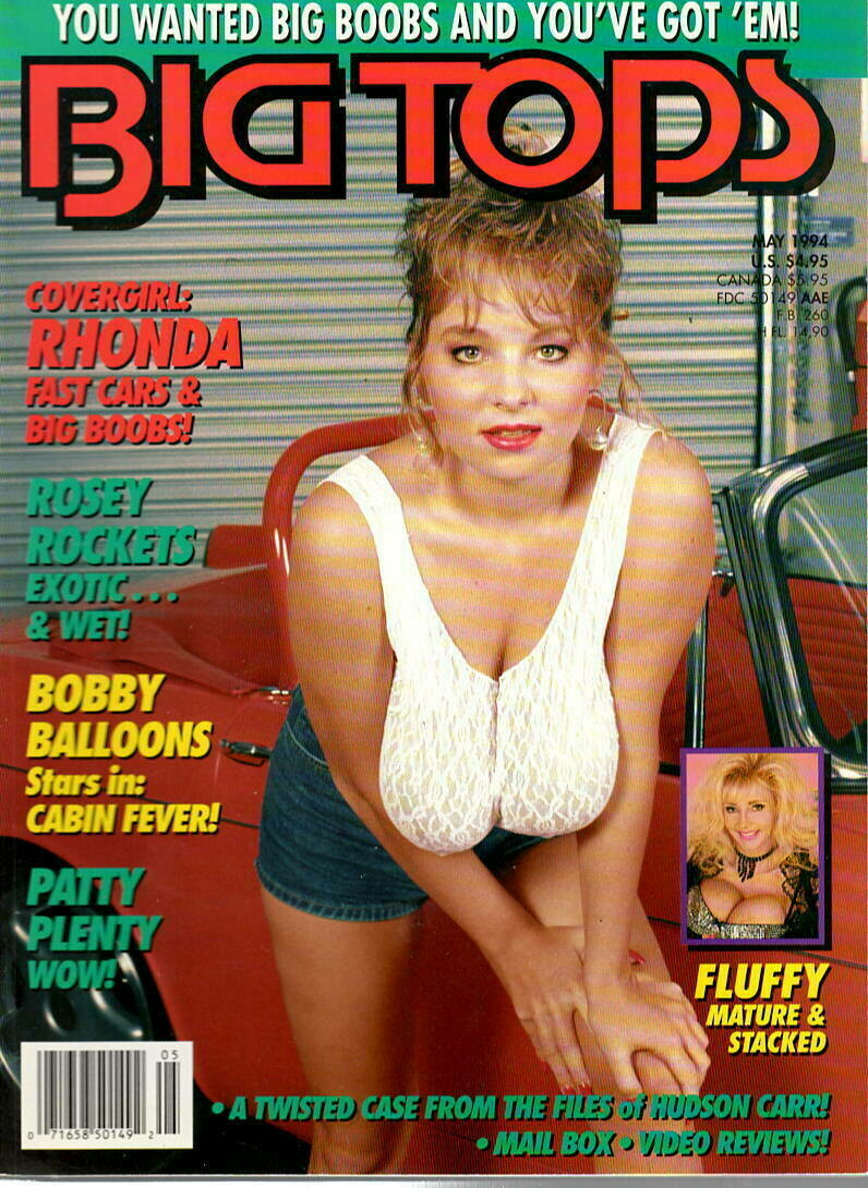 Vintage Big Tops May 1994 Patty Plenty