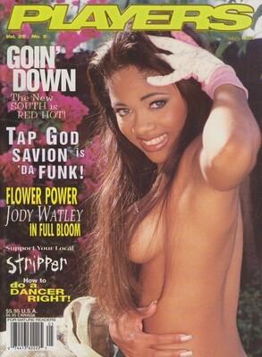 Players Magazine Jody Watley vol.25 #5 1998