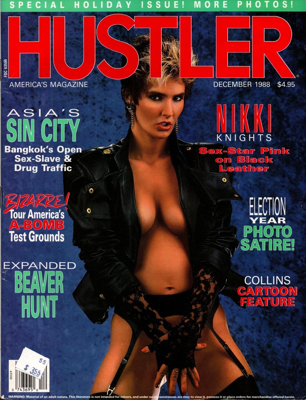 Vintage Hustler Magazine December 1988 Nikki Knights