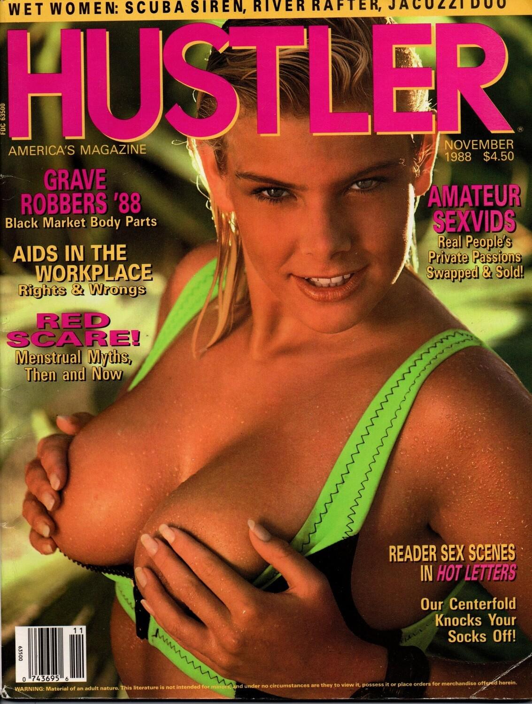 Vintage Hustler Magazine November 1988