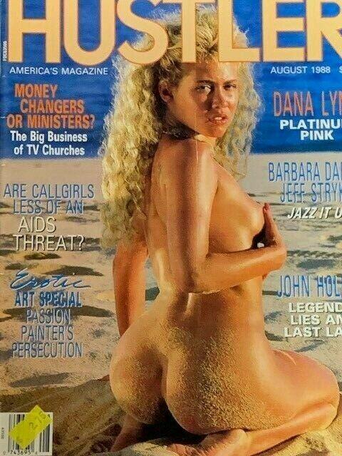 Vintage August 1988 HUSTLER Adult Magazine Dana Lynn