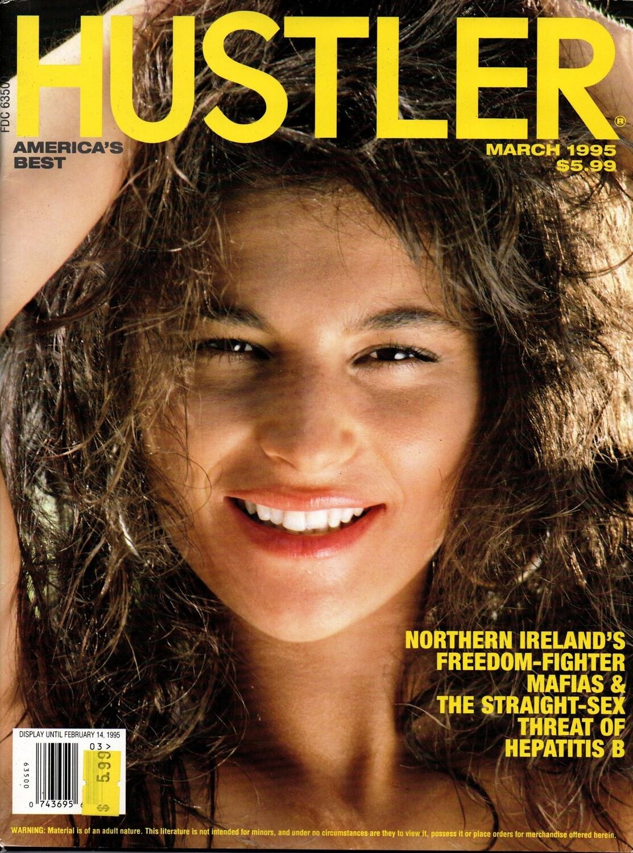 Vintage Hustler Magazine March 1995