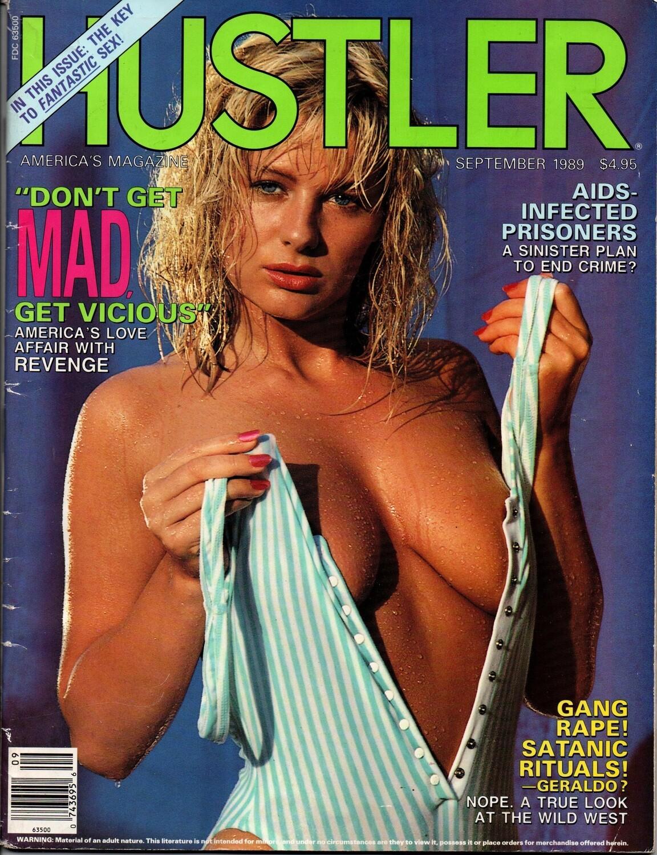 Hustler Magazine Cover Girl Courtney September 1989
