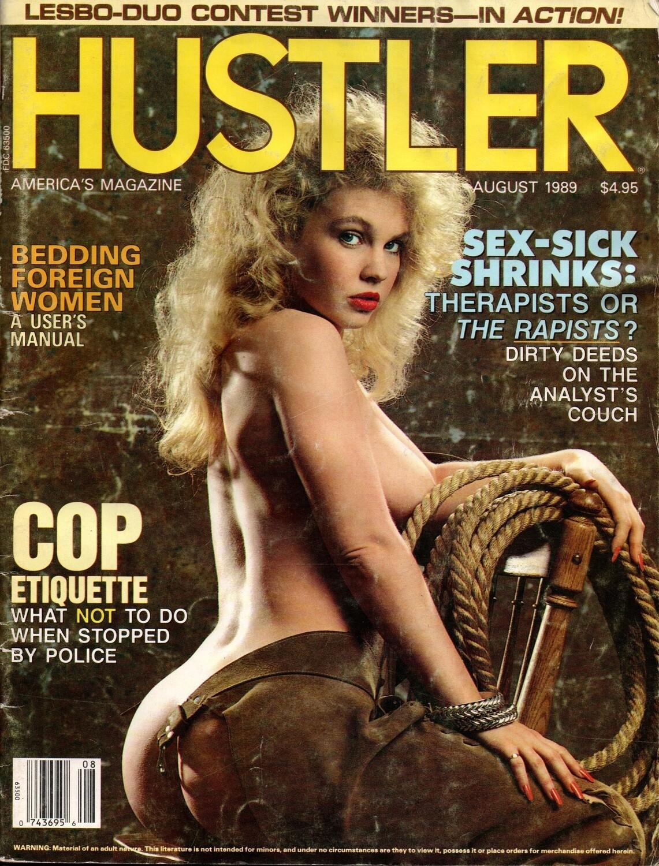 Hustler Magazine August 1989
